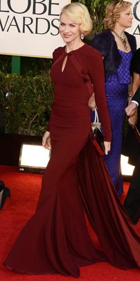 Naomi Watts in Zac Posen