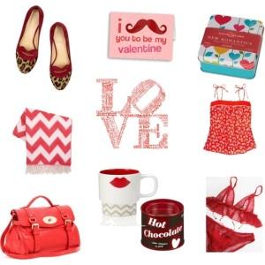 Valentine Love: Red (via Polyvore)