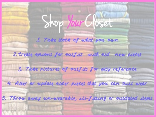 Shop Your Closet - Spring 2013