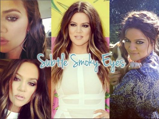 Khloe Kardashian Beauty - Smoky Eyes