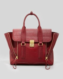 3.1 Phillip Lim Pashli Satchel in Red