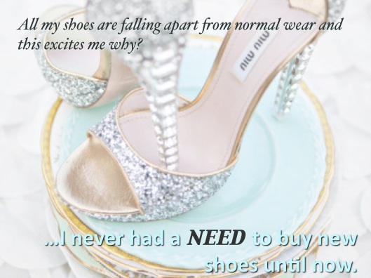 Confessions of a Recovering Shoe-aholic, shoes, obsession