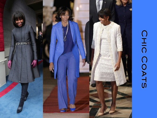 Michelle Obama, Style, Lady of Style, Coats