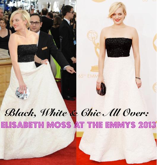 Elisabeth Moss, Emmys 2013, Andrew Gn