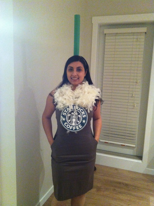DIY Halloween Costume, Starbucks
