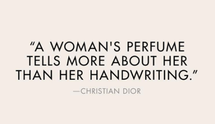 Perfume, Quote, Christian Dior