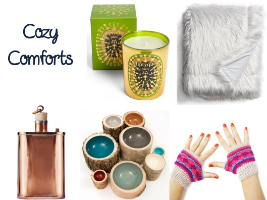 Holiday Gift Guide, Cozy Comforts