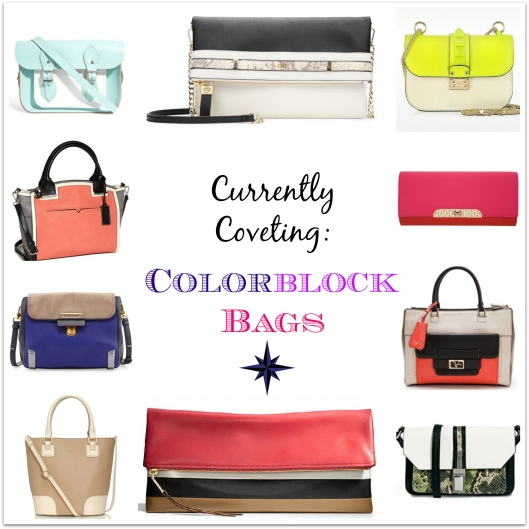 Colorblock bags, Marc Jacobs, Kate Spade, Tory Burch, River Island, ASOS