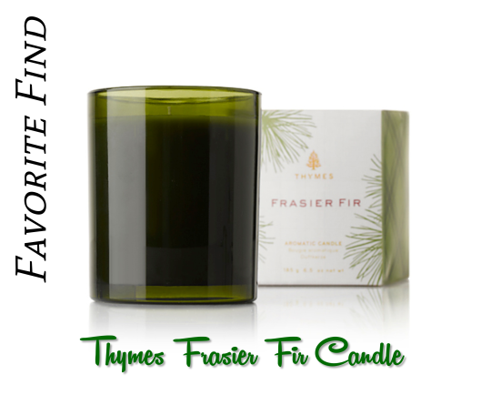 Thymes Frasier Fir Candle, Review