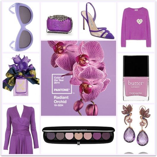 Pantone Colour of the Year 2014, Radiant Orchid