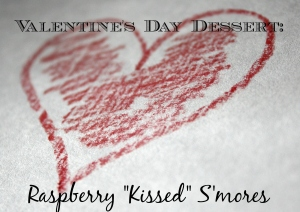 Dessert, Raspberry S'mores, Valentine's Day, Recipe,