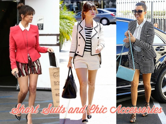 Kourtney Kardashian, Style, Lady of Style, Short Suit