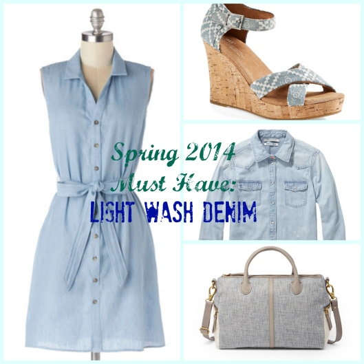 Light Wash Denim, Spring Trends